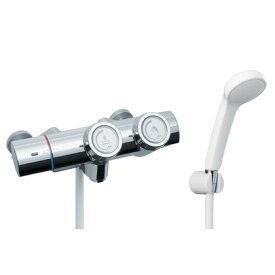 LIXIL プッシュ式シャワーバス水栓      21×36×27 RBF-815N LIXIL INAX イナックス 浴室用 バス 風呂 混合水栓 混合栓 水栓 水栓金具 サーモ サー
