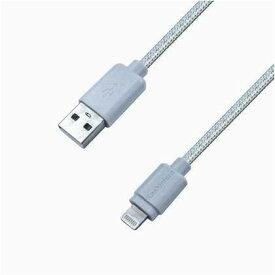 カシムラ USB充電&同期ケーブル 1.2m LN STRONG ホワイト W15×H38×D7mm KL46