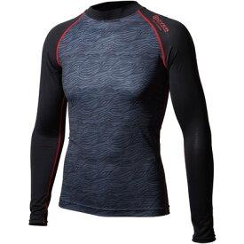 おたふく手袋 アウトラスト ロングシャツ 3L カモフラ×レッド 胸囲:108-116 身長:175-185 JW-540 オタフク