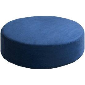 宮武製作所 リビング座布団 Amaretto(アマレット) ブルー 幅50×奥行き50×高さ15cm CN-50R_BL 座布団・低反発・リビング