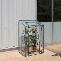 タカショービニール温室フラワースタンド用スリムビニール:クリア約幅70.5cm×奥行50cm×高さ111cmGRH-17