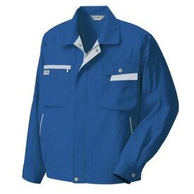 アイトス 長袖サマーブルゾン(ムービンカット) 006ブルー×シルバーグレー B3L 5320-006-B3L