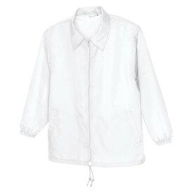 アイトス 裏メッシュジャケット(男女兼用) 001ホワイト 4L 50101-001-4L