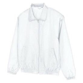 アイトス 裏メッシュブルゾン(男女兼用) 001ホワイト L 50102-001-L
