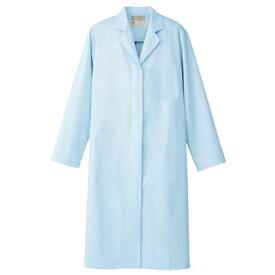 アイトス レディース白衣コート 007サックス 4L 861314-007-4L