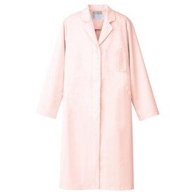 アイトス レディース白衣コート 060ピンク LL 861314-060-LL