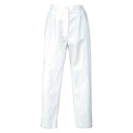 アイトス レディース脇シャーリングパンツ 001ホワイト LL HH440-001-LL