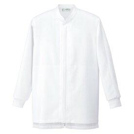 アイトス 衛生コート(男女兼用) 001ホワイト 5L HH490-001-5L