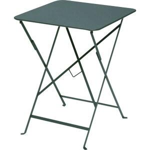 ビストロ ビストロ スクエアテーブル570 シダーグリーン ガーデンテーブル・チェア 650212210 1台