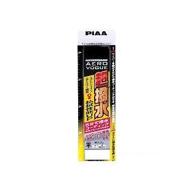 PIAA エアロヴォーグ 超強力シリコートワイパー NO6 ブラック W60mm・H600mm・D27mm WAVS43 1個