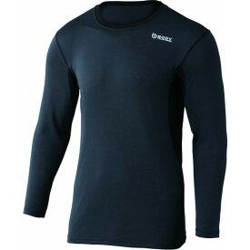 おたふく手袋 デュアルメッシュ ロングシャツ S グレー×ブラック 胸囲:80-88 身長:155-165 JW-602 オタフク