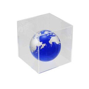 ハイロジック 透明アクリルケース 5面(底板なし) 100×100×500mm Pen115 1個