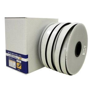 イノアックコーポレーション 低反発EPDMゴムスポンジ シールフレックスモールド 厚さ:10mm幅:30mm長さ:25m 黒 SFM-008 1個