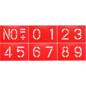 ヤマヨ測定機 マーキングシート(170mm) 6枚組セット シートサイズ:270×440×0.8mm MS170 1包