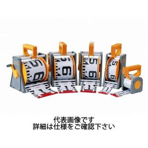 ヤマヨ測定機 リボンロッド両サイド100E1 50m ケース入 ケース:333x220x153mm R10A50L 1個