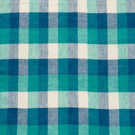有限会社キーストーン マルチカバーチェック グリーン/ブルー 150×225cm MUCONCGB 1枚