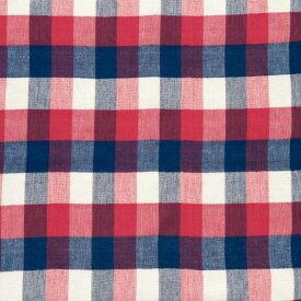 有限会社キーストーン マルチカバーチェック レッド/ブルー 150×225cm MUCONCRB 1枚