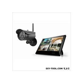 マザーツール 高解像度ワイヤレスセキュリティカメラシステム/カメラセット W255xH173x D38mm MT-WCM300 1セット
