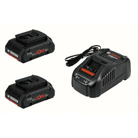 ボッシュ 18V4.0Ahリチウムイオンバッテリー・充電器セット 117x77x47mm PROCORE18V4S2 1個