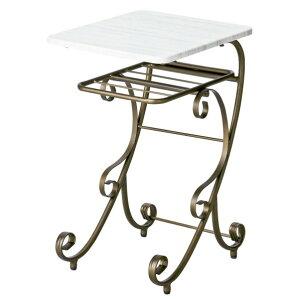 Celestia(セレスティア) アンティークゴールドのナイトテーブル NT-350 1個