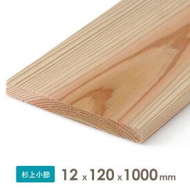 織田商事 杉乾燥板材(仕上げ材) 12x120x1000 厚みx幅x長さ(mm) 約0.68kg 1本