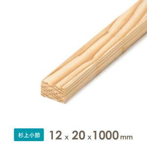織田商事 杉乾燥板材(仕上げ材) 12x20x1000 厚みx幅x長さ(mm) 約0.11kg 1本