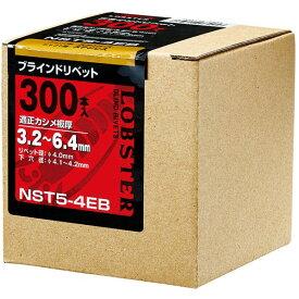 エビ ブラインドリベットエコBOXステンレス/ステンレス6−4(150本入) 91 x 92 x 92 mm NST 6-4EB 150本