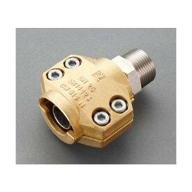 エスコ(esco) 25mm用雄ねじ セーフティーホースクランプ(スチーム・温水用) EA141BL-108 1個