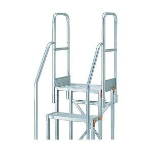 トラスコ(TRUSCO) TRUSCO 作業用踏台用手すり H900 階段両手すり TSF−369・461 TSF-TE4 はしご・脚立 1点