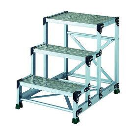 TRUSCO TRUSCO アルミ合金製作業台 縞鋼板 3段 高さ0.75m 600X400 TSFC-3675 1