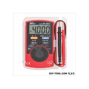 マザーツール デジタルマルチメータ 57(W)×110(H)×11(D)mm MT-4081J 1個
