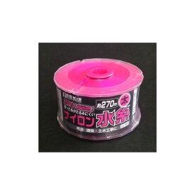 BIGMAN リール巻ナイロン水糸 太 ピンク 4.5cm×8cm×8cm LE-180 1ヶ