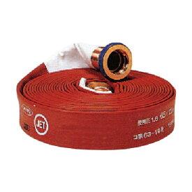 スーパー工業 スーパー工業 消防ライトラインホースASY(合成ゴム被覆ホース)φ40×20m 990006212 1個