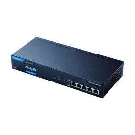 エレコム エレコム 法人向け ノンインテリジェントギガPoEスイッチ 5ポート ファンレス 333 x 223 x 80 mm EHB-UG2B05-PL