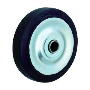 イノアック イノアック 中荷重用キャスター ゴム車輪のみ Φ100 100×42×100MM GR-100W 1台