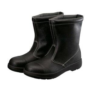 シモン シモン 2層ウレタン底安全半長靴 26.5cm ブラック 280 x 320 x 120 mm AW44BK-26.5 1個