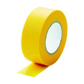 TRUSCO TRUSCO 建築塗装用マスキングテープ 幅20mm長さ18m 6巻入 イエロー 56×56×126MM MTA-2018-6-Y 6巻