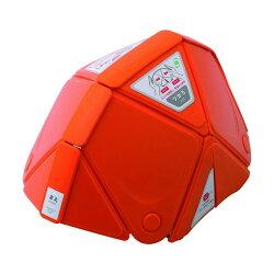 ミドリ安全ミドリ安全防災用折りたたみヘルメットフラットメットTSC−10オレンジ312x224x44mmTSC-10-OR