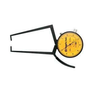 ※法人専用品※エスコ(esco) 10-35mm ダイヤルキャリパゲージ(外測用) EA725AC-34 1個