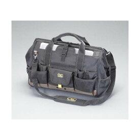 エスコ(esco) 254x457x279mm ツールバッグ(21ポケット) EA925C-42 1個