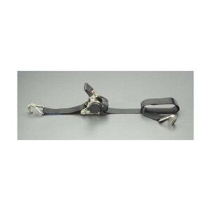 エスコ(esco) 25mmx1.8m/ 60kg ベルト荷締機(自動巻取式) EA982AA-16 1個