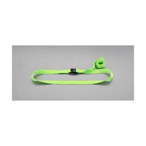 エスコ(esco) 25mmx2.0m 荷締ストラップ(緑) EA982BA-132 1個
