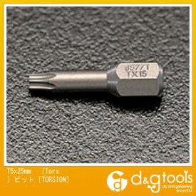 エスコ [TORX]ビット[TORSION] T5×25mm (EA611AD-5)