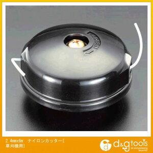 エスコ 2.4mmx6mナイロンカッター[草刈機用] (EA898R-1)