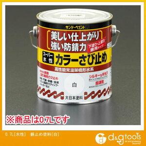 エスコ 0.7L[水性]錆止め塗料[白] (EA942EB-61)