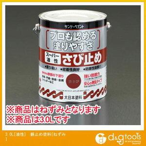 エスコ 3.0L[油性]錆止め塗料[ねずみ] (EA942ED-23) ESCO 塗料 さび止め