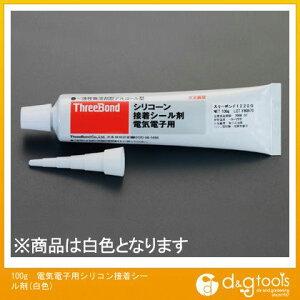 エスコ 100g電気電子用シリコン接着シール剤(白色) (EA930AH-8)