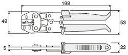 【ホーザン HOZAN】P-736圧着工具