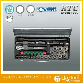 KTC KTC12.7sq.ソケットレンチセット[26点] TB420X 26 点セット