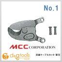 MCC 活線ケーブルカッター替刃 NO.1 (ZCE0201) ケーブルカッター ケーブル カッター